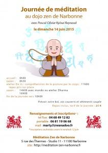 Journée de méditation zen à Narbonne 14 juin 2015