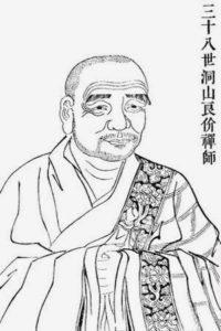 Portrait de Dongshan-Liangjie - Tozan-Ryokai