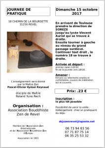 Journée de ZaZen à Revel-15-octobre-2017