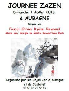 Journée de zazen à Aubagne – 01 juillet 2018