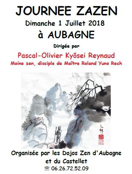 journée de méditation zen à Aubagne juillet 2018