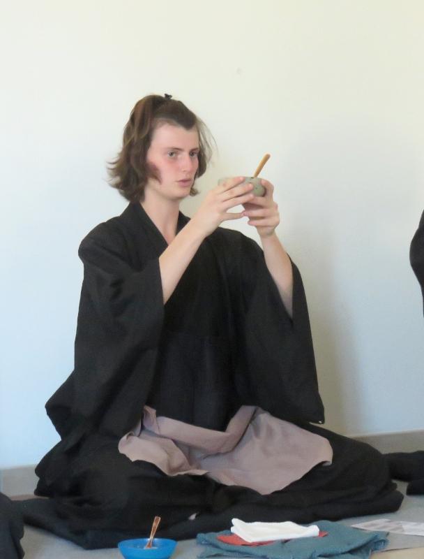 Cérémonie du repas lors de la genmai