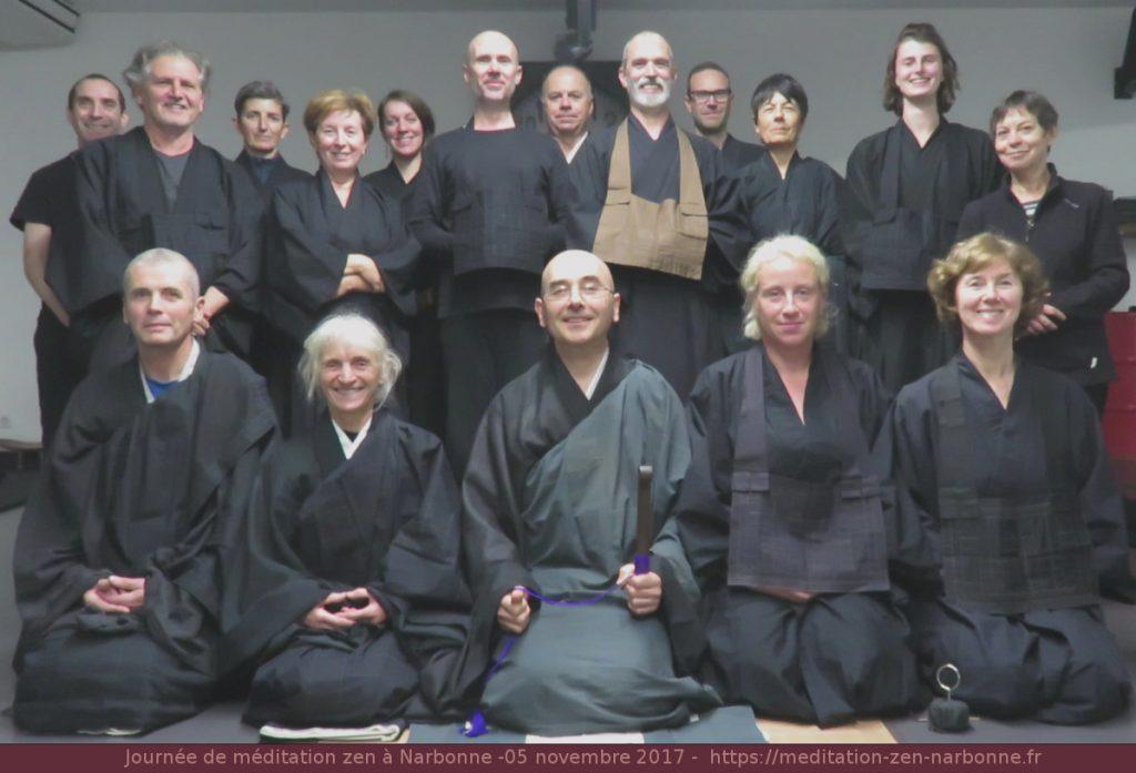 Journée de méditation zen à Narbonne - 05 novembre 2017