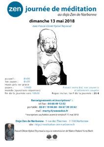 Journée de Zazen à Narbonne le 13 mai 2018