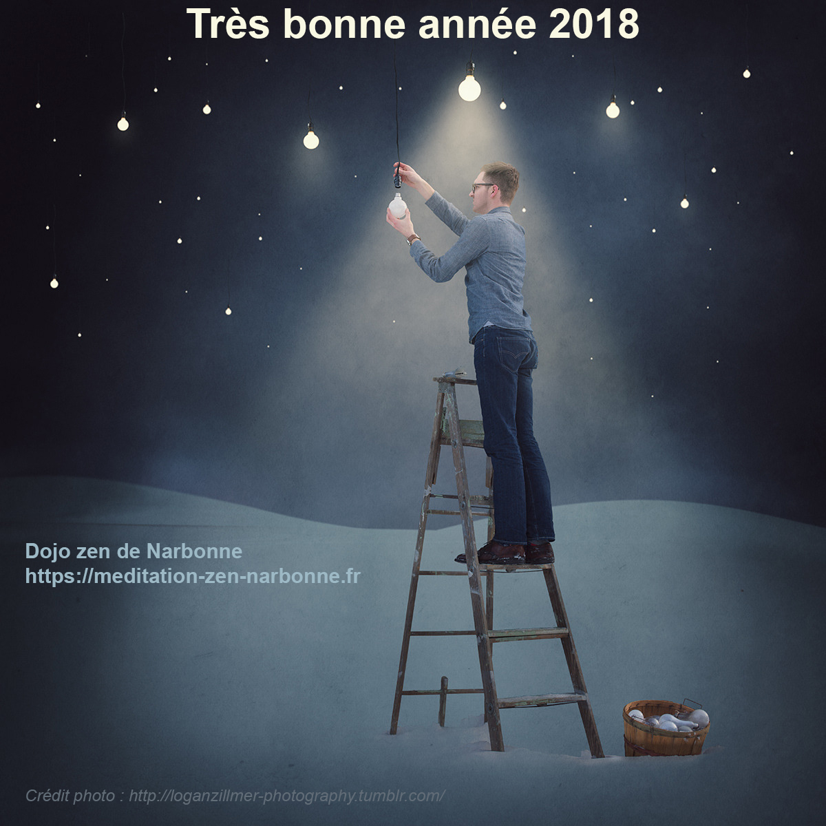 Méditation zen Narbonne - voeux 2018