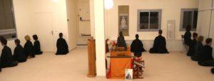 Méditation zen à Gyobutsuji à nice