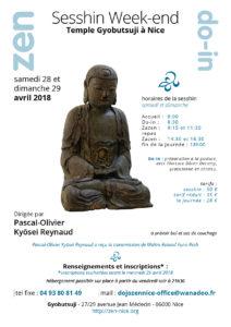 28 et 29 avril 2018 Sesshin week-end à Nice