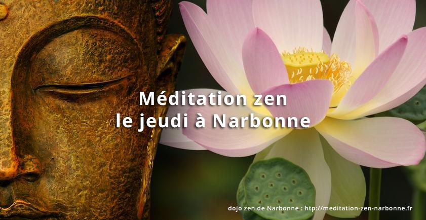 Méditation assise, zazen le jeudi à Narbonne