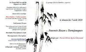 Journée de zazen à Tartejoque - 09100 Unzent - 5 août 2018