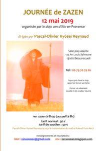 Meditation Zen Aix 12 mai 2019 Kyosei Reynaud