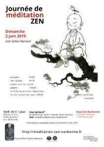 Journée de Zazen à Narbonne le 02 juin 2019