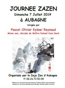 journee de zazen à Aubagne 07 juillet 2019