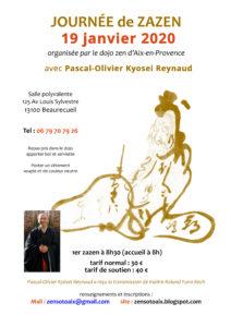 Meditation Zen Aix 19 janvier 2020 Kyosei Reynaud